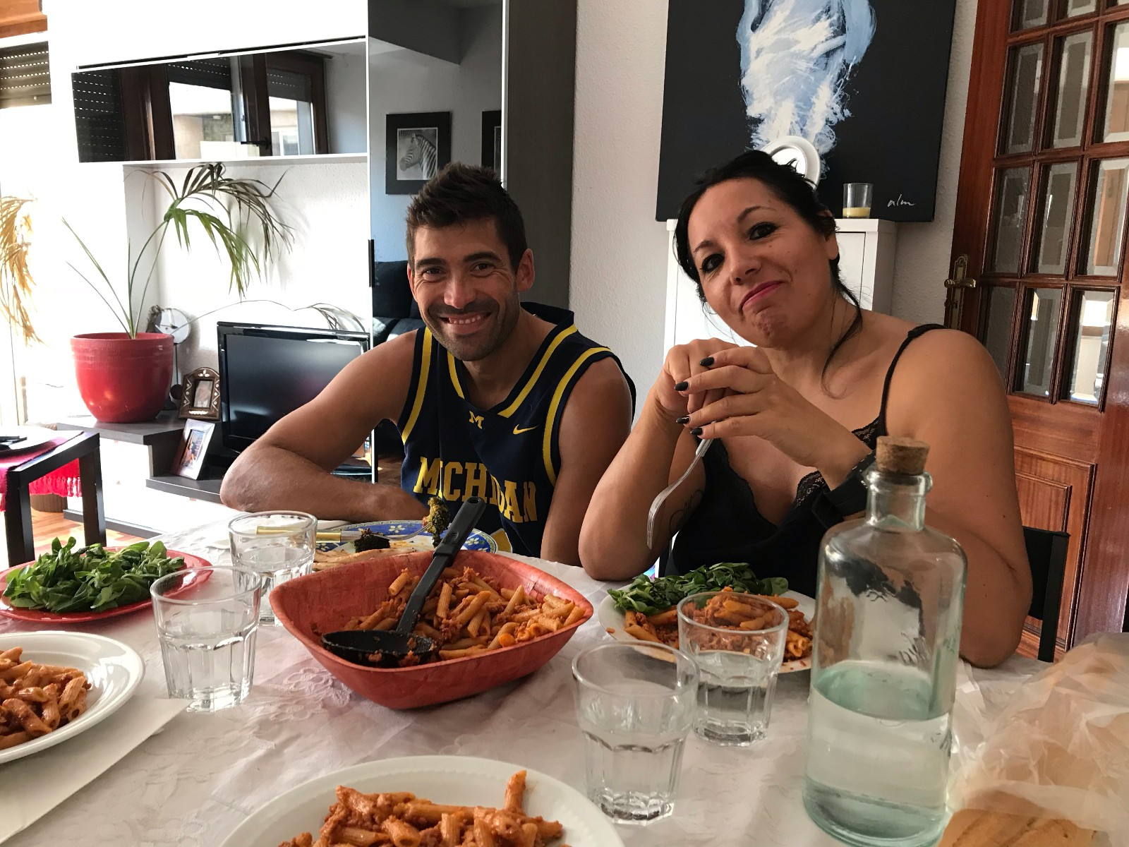 住家妈妈和他男朋友